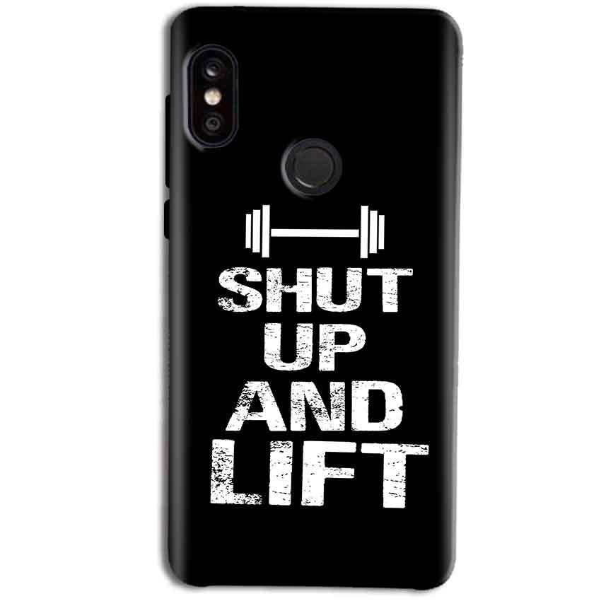 official photos 57527 bee0c Xiaomi Redmi Note 5 Pro Shut Up And Lift Back Cover