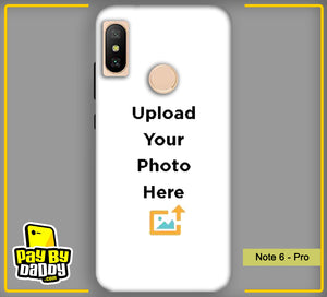 Customized Xiaomi Redmi Note 6 Pro Mobile Phone Covers & Back Covers with your Text & Photo