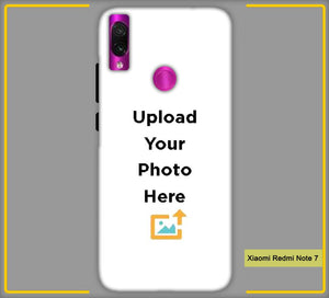 Customized Xiaomi Redmi Note 7 4s Mobile Phone Covers & Back Covers with your Text & Photo