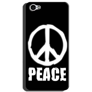 Xiaomi Redmi Y1 Lite Mobile Covers Cases Peace Sign In White - Lowest Price - Paybydaddy.com