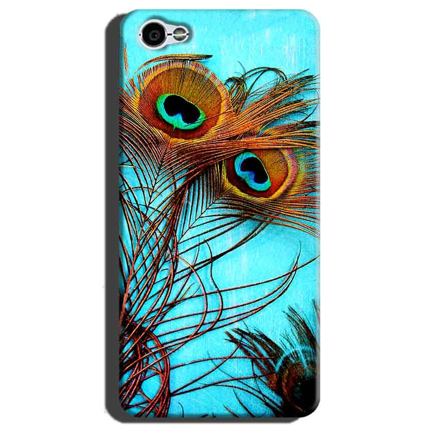 Xiaomi Redmi Y1 Lite Mobile Covers Cases Peacock blue wings - Lowest Price - Paybydaddy.com
