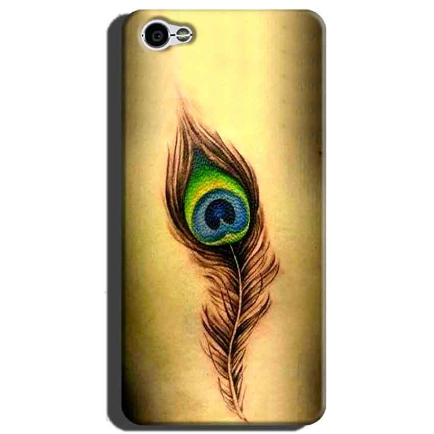 Xiaomi Redmi Y1 Lite Mobile Covers Cases Peacock coloured art - Lowest Price - Paybydaddy.com