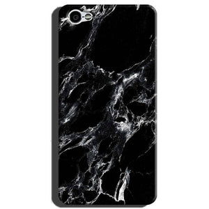 Xiaomi Redmi Y1 Lite Mobile Covers Cases Pure Black Marble Texture - Lowest Price - Paybydaddy.com