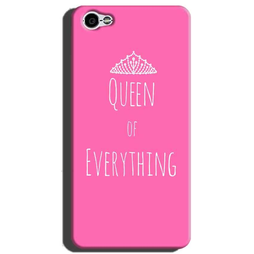Xiaomi Redmi Y1 Lite Mobile Covers Cases Queen Of Everything Pink White - Lowest Price - Paybydaddy.com
