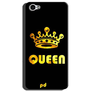 Xiaomi Redmi Y1 Lite Mobile Covers Cases Queen With Crown in gold - Lowest Price - Paybydaddy.com