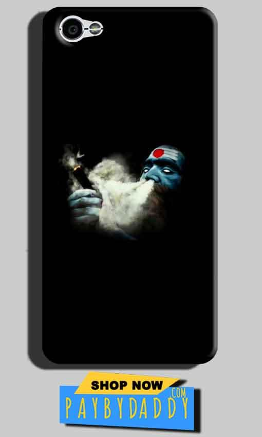 Xiaomi Redmi Y1 Lite Mobile Covers Cases Shiva Aghori Smoking - Lowest Price - Paybydaddy.com
