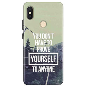 Xiaomi Redmi Y2 Mobile Covers Cases Donot Prove yourself - Lowest Price - Paybydaddy.com