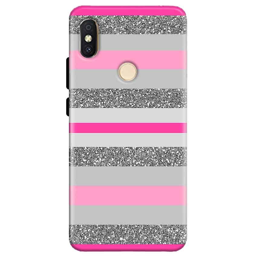 Xiaomi Redmi Y2 Mobile Covers Cases Pink colour pattern - Lowest Price - Paybydaddy.com