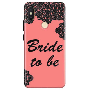 Xiaomi Redmi Y2 Mobile Covers Cases Mobile Covers Cases bride to be with ring Black Pink - Lowest Price - Paybydaddy.com