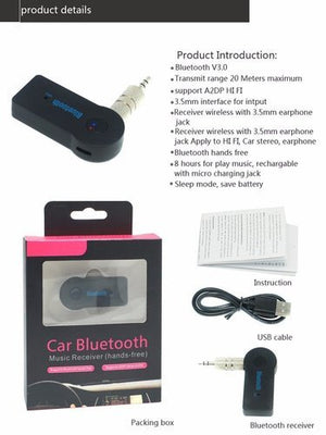 Bluetooth Dongle  For Car Home Speakers Headphones Online India