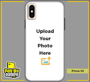 Customized Apple iPhone XS Mobile Phone Covers & Back Covers with your Text & Photo