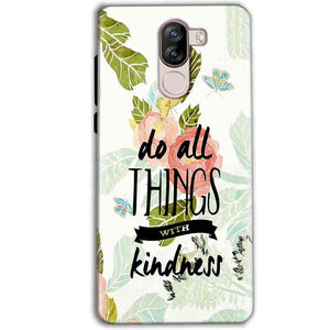 iVoomi i1s Mobile Covers Cases Do all things with kindness - Lowest Price - Paybydaddy.com
