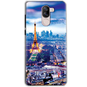 iVoomi i1s Mobile Covers Cases Eiffel Tower Light View - Lowest Price - Paybydaddy.com