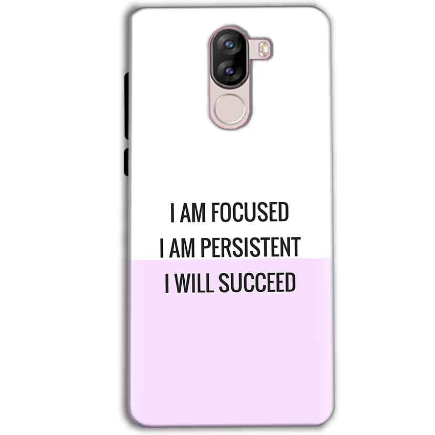 iVoomi i1s Mobile Covers Cases I am Focused - Lowest Price - Paybydaddy.com