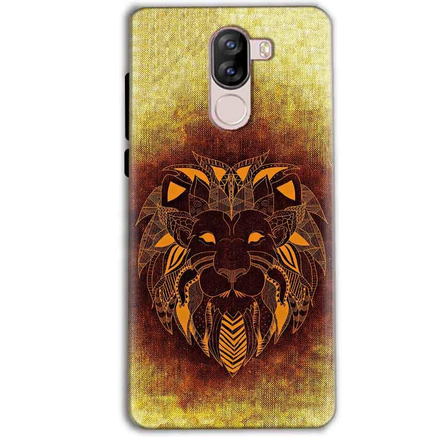 iVoomi i1s Mobile Covers Cases Lion face art - Lowest Price - Paybydaddy.com