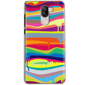 iVoomi i1s Mobile Covers Cases Melted colours - Lowest Price - Paybydaddy.com