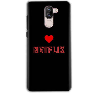 iVoomi i1s Mobile Covers Cases NETFLIX WITH HEART - Lowest Price - Paybydaddy.com