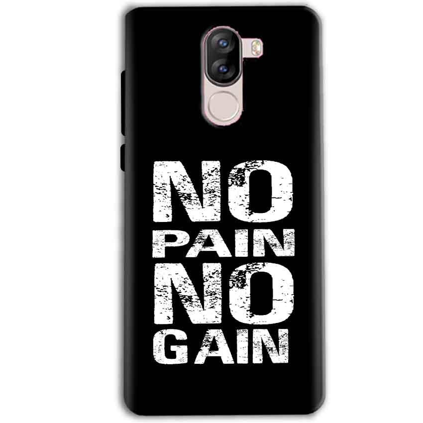iVoomi i1s Mobile Covers Cases No Pain No Gain Black And White - Lowest Price - Paybydaddy.com