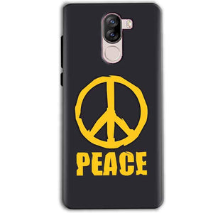 iVoomi i1s Mobile Covers Cases Peace Blue Yellow - Lowest Price - Paybydaddy.com