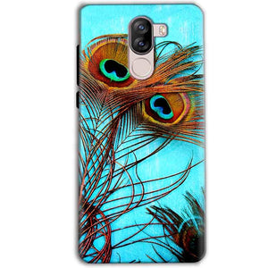 iVoomi i1s Mobile Covers Cases Peacock blue wings - Lowest Price - Paybydaddy.com