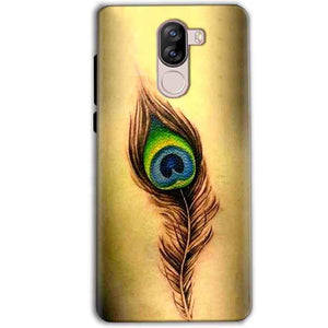 iVoomi i1s Mobile Covers Cases Peacock coloured art - Lowest Price - Paybydaddy.com