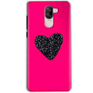 iVoomi i1s Mobile Covers Cases Pink Glitter Heart - Lowest Price - Paybydaddy.com