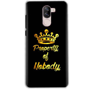 iVoomi i1s Mobile Covers Cases Property of nobody with Crown - Lowest Price - Paybydaddy.com
