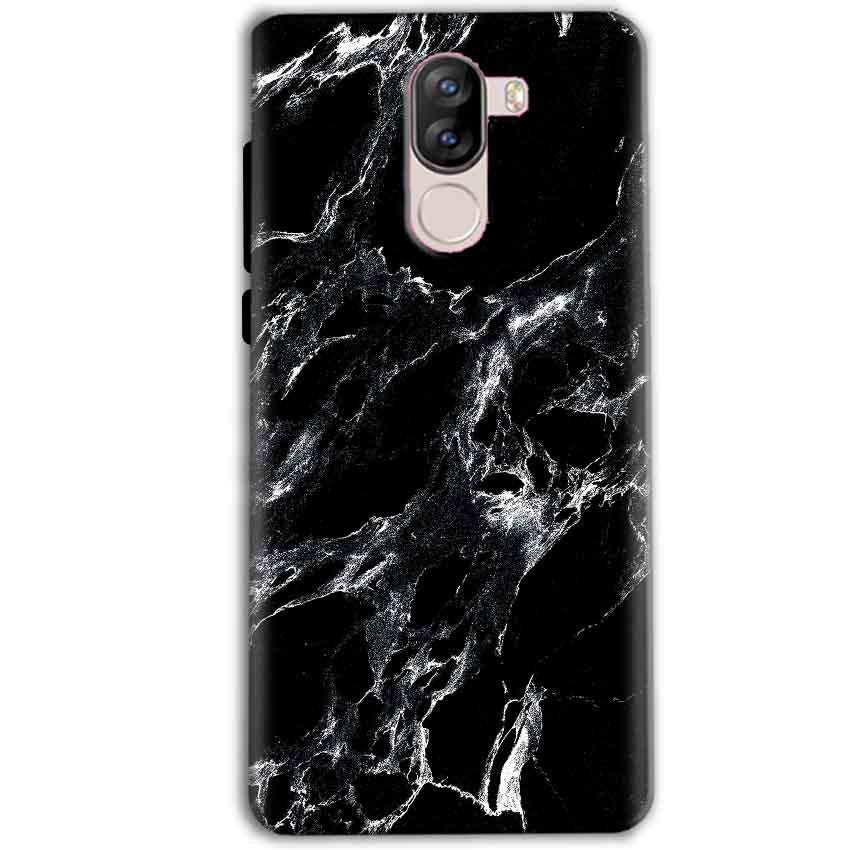 iVoomi i1s Mobile Covers Cases Pure Black Marble Texture - Lowest Price - Paybydaddy.com