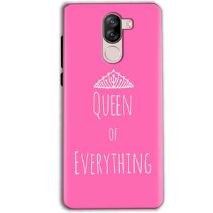 iVoomi i1s Mobile Covers Cases Queen Of Everything Pink White - Lowest Price - Paybydaddy.com