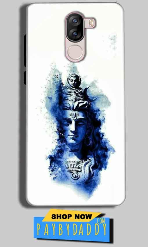 iVoomi i1s Mobile Covers Cases Shiva Blue White - Lowest Price - Paybydaddy.com