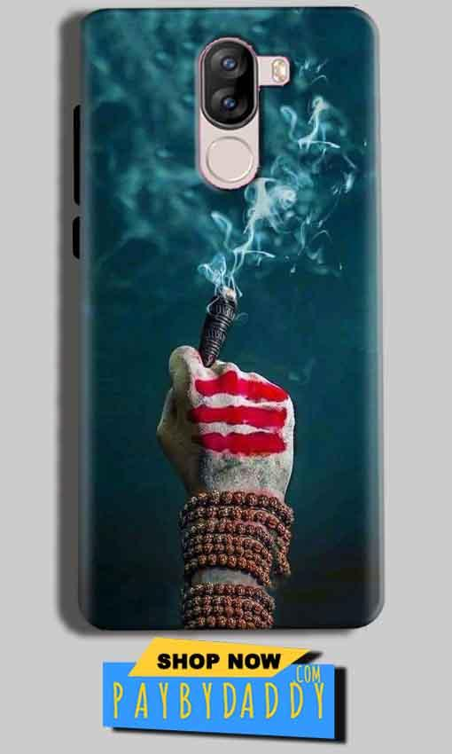 iVoomi i1s Mobile Covers Cases Shiva Hand With Clilam - Lowest Price - Paybydaddy.com