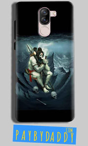 iVoomi i1s Mobile Covers Cases Shiva Smoking - Lowest Price - Paybydaddy.com