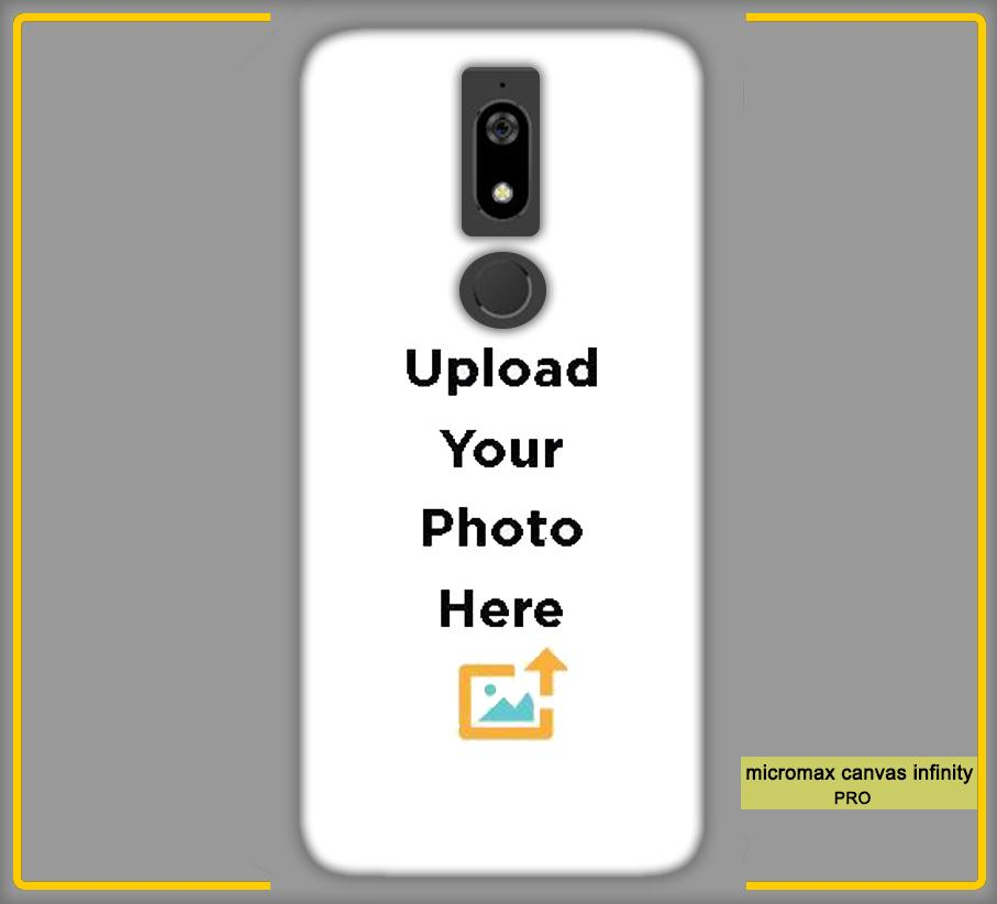 CustomizedIntex Micromax Canvas Infinity Pro4s Mobile Phone Covers & Back Covers with your Text & Photo