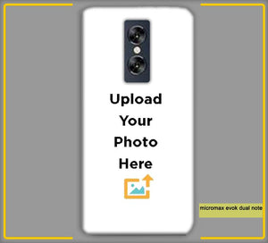 CustomizedIntex Micromax Evok Dual Note4s Mobile Phone Covers & Back Covers with your Text & Photo