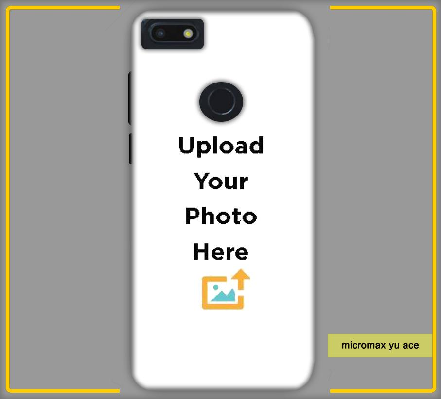 CustomizedIntex Micromax Yu Ace4s Mobile Phone Covers & Back Covers with your Text & Photo