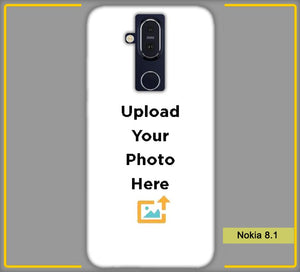 CustomizedIntex  Nokia 8.1 LTE 4s Mobile Phone Covers & Back Covers with your Text & Photo