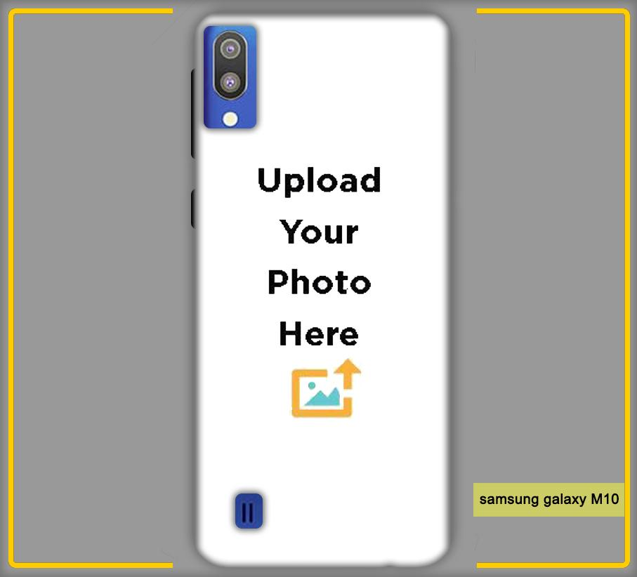 Customized Samsung Galaxy M10 Back Mobile Phone Covers & Back Covers with your Text & PhotoPhoto Cover,Custom Cover,Picture With Cover