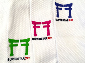 White Superstar 750 Coloured gates