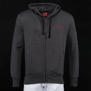 'THIS IS JUDO' Adult's Hoodie - Charcoal & Heather Grey