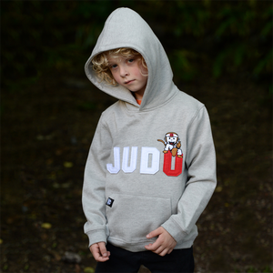 Child's Koka Kids Grey & Navy Hoodie