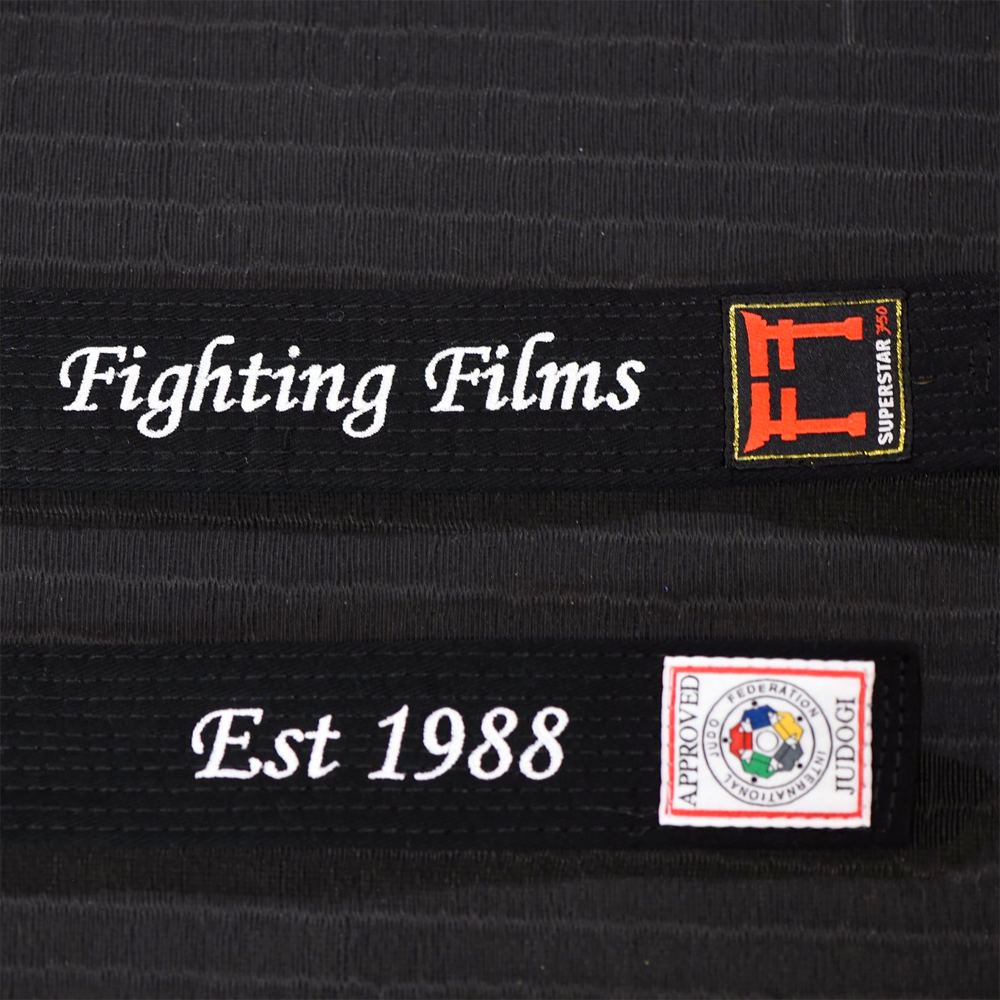 Personalised IJF Approved Belts
