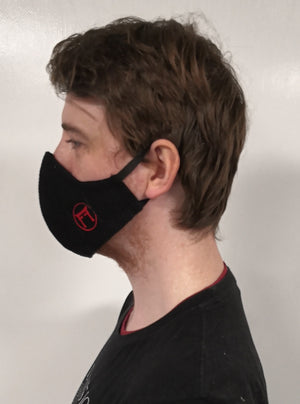 Black Cotton FF Face Mask