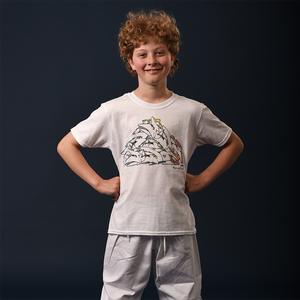 Child's Graffiti Judo T-Shirt