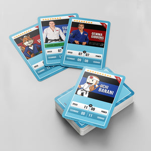 Judo Trading Cards