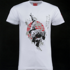 'THIS IS JUDO' Throw Design Adult T-Shirt