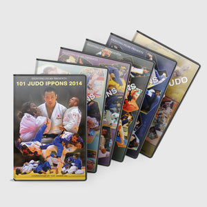 101 Judo Ippons 6 DVD Special Bundle Offer