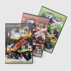 101 Judo Ippons Special 3 DVD Bundle Offer From Fighting Films