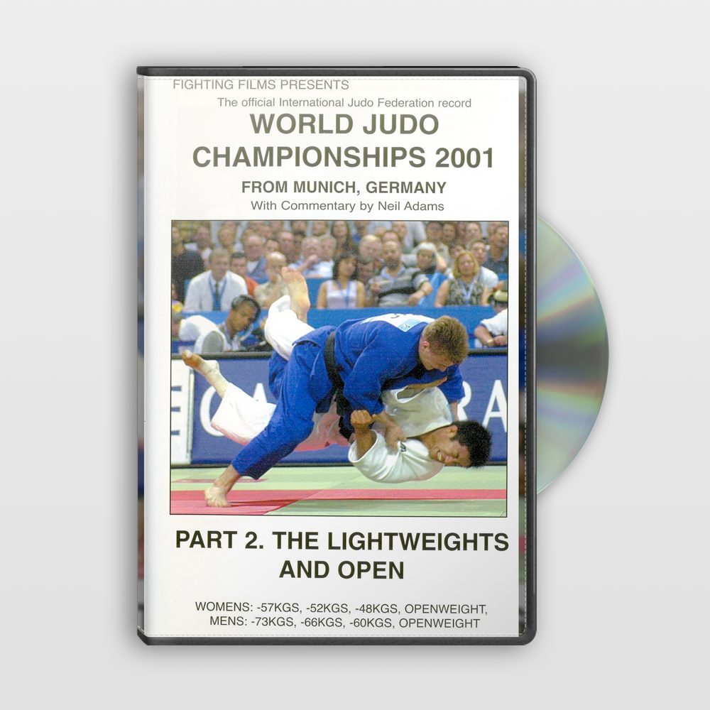 2001 World Judo Championships - Part 2. The Lightweights & Open