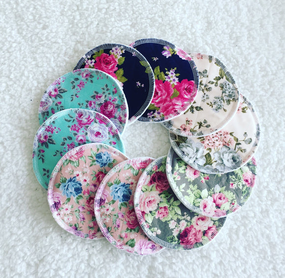 Mystery pack Bamboo Nursing Pads - LARGE sizing