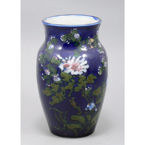 Antique Porcelain Enameled Vase